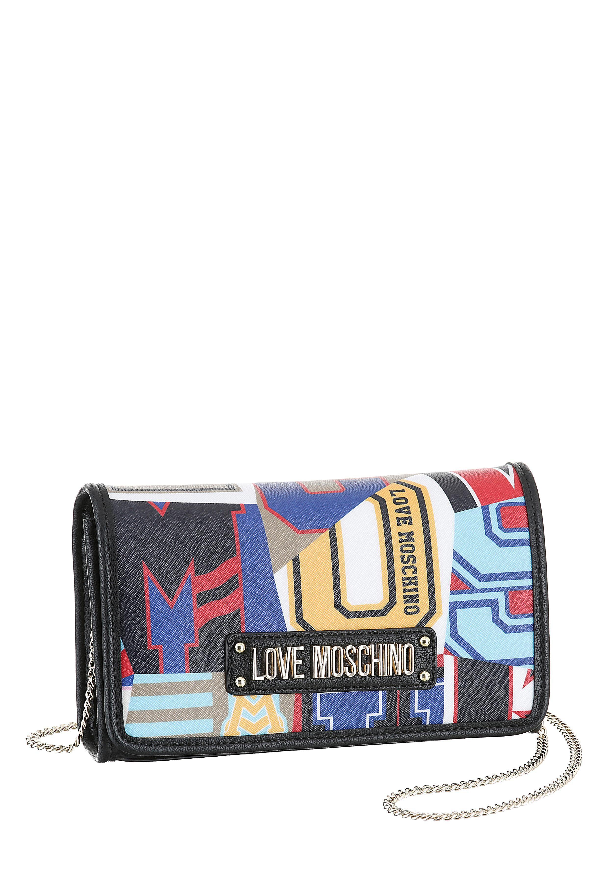 LOVE MOSCHINO Umhängetasche, in buntem Design