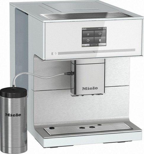 Miele Kaffeevollautomat CM7350 Brillantweiß, Kaffee- und Teezubereitung