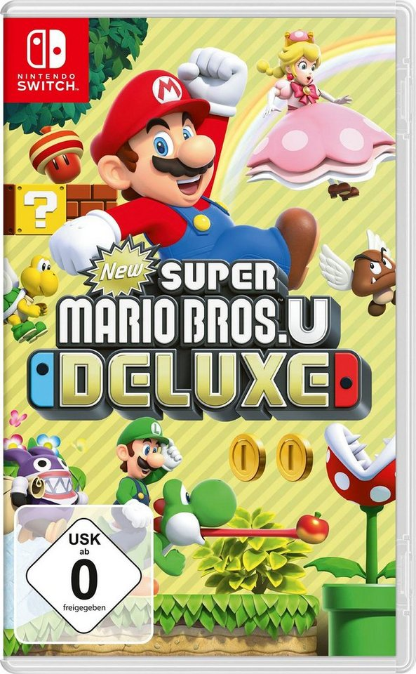 New Super Mario Bros  U Deluxe Nintendo Switch | OTTO