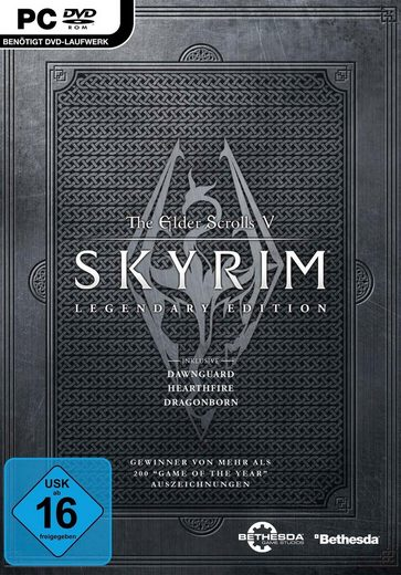 The Elder Scrolls V: Skyrim - Legendary Edition PC, Software Pyramide