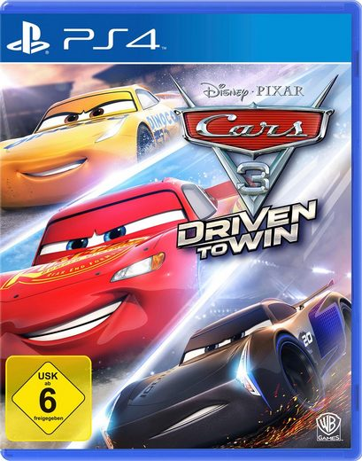 Cars 3: Driven to Win PlayStation 4, Software Pyramide