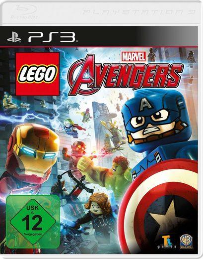 Lego Marvel Avengers PlayStation 3, Software Pyramide