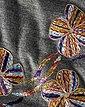 Reitmayer Poncho mit Blütenstickerei, Bild 3