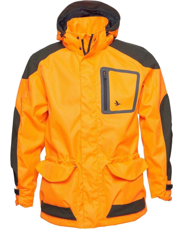 Herren Seeland Jacke Kraft Hi-Vis orange | 05707335380689