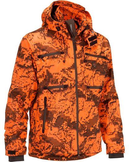 Swedteam Jacke Ridge Pro orange camo