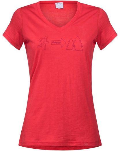 Bergans Damen T-Shirt Exit Wool