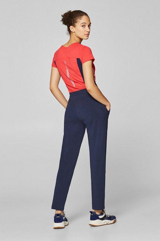 Esprit Jersey-Hose mit breitem Gummibund