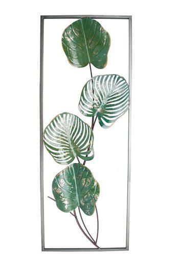 NTK-Collection Wanddekoobjekt »Wanddeko Silhouette Green«
