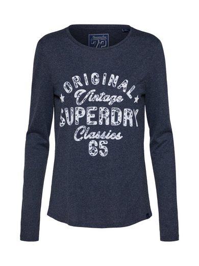 Superdry Langarmshirt »DARLA GRAPHIC TOP«