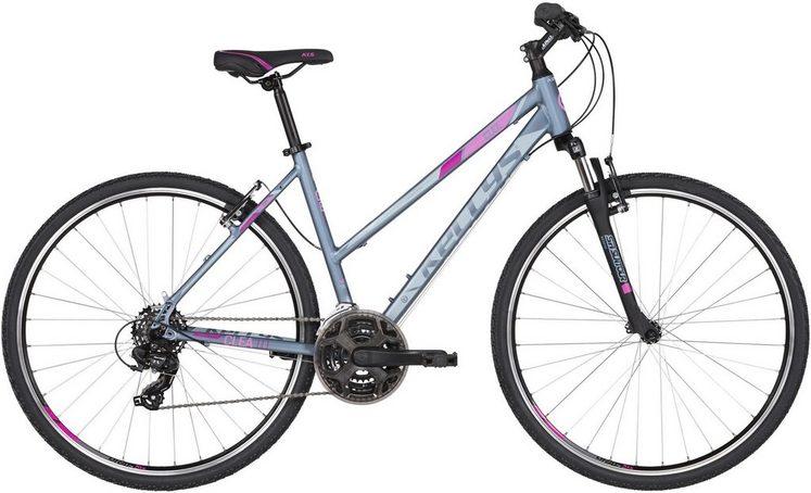 Kellys Crossrad »Clea 10«, 21 Gang Shimano TY300 (direct mount) Schaltwerk, Kettenschaltung