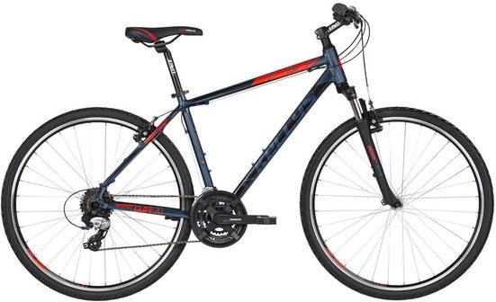 Kellys Crossrad »Cliff 30«, 24 Gang Shimano TX800 (direct mount) Schaltwerk, Kettenschaltung