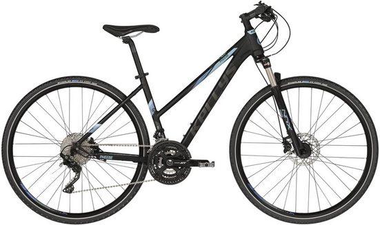 Kellys Crossrad »Pheebe 90«, 30 Gang Shimano Deore XT M781 (direct mount) Schaltwerk, Kettenschaltung