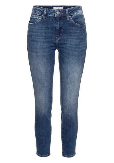 Mavi Skinny-fit-Jeans »TESS« mit gekrempeltem Saum b15a0d2f87