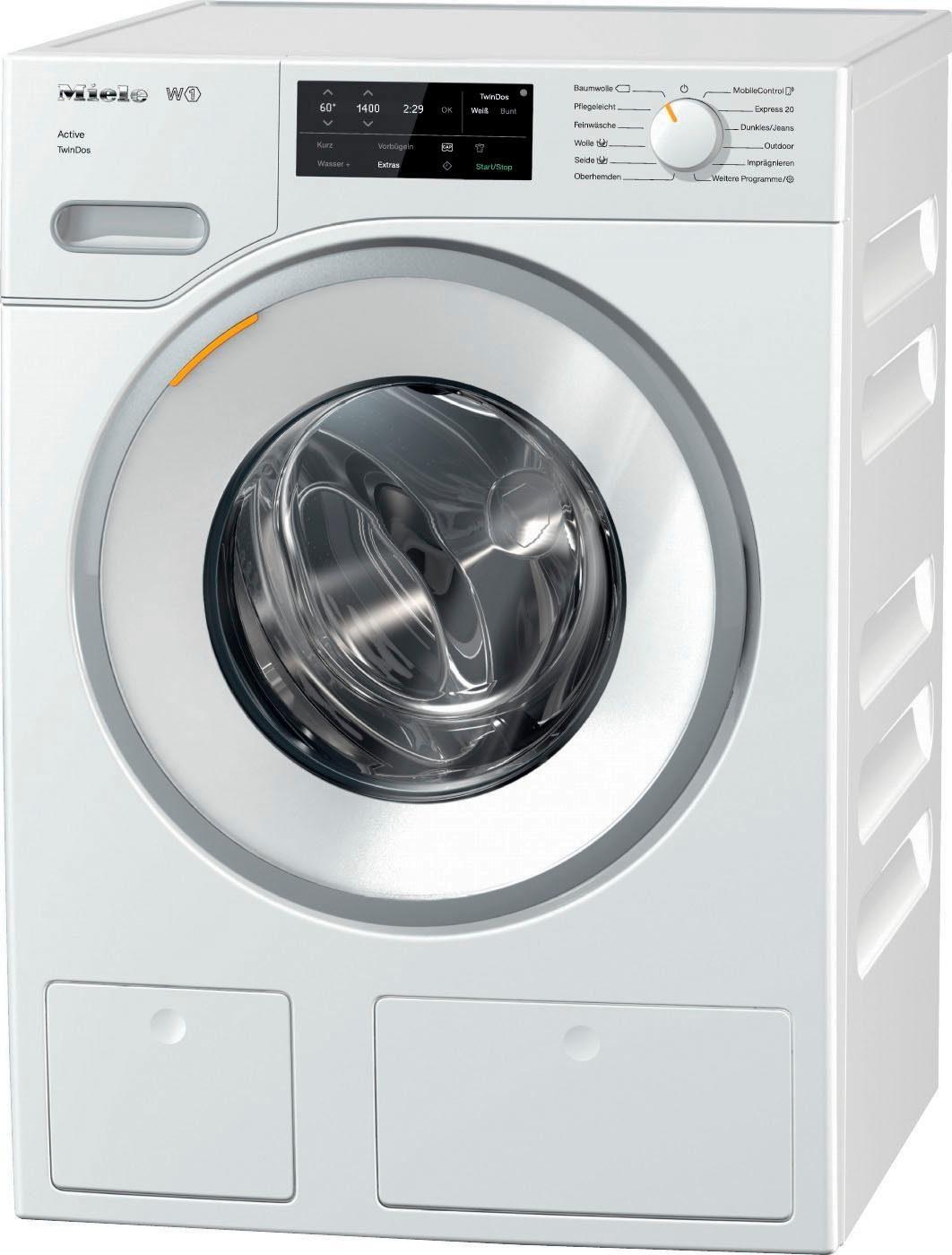 Miele Waschmaschine WWE668 WPS Active TwinDos, 8 kg, 1400 U/Min