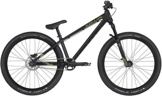 Kellys Mountainbike »Whip 70«, 1 Gang, Kettenschaltung, Oberrohrlänge = 58,1