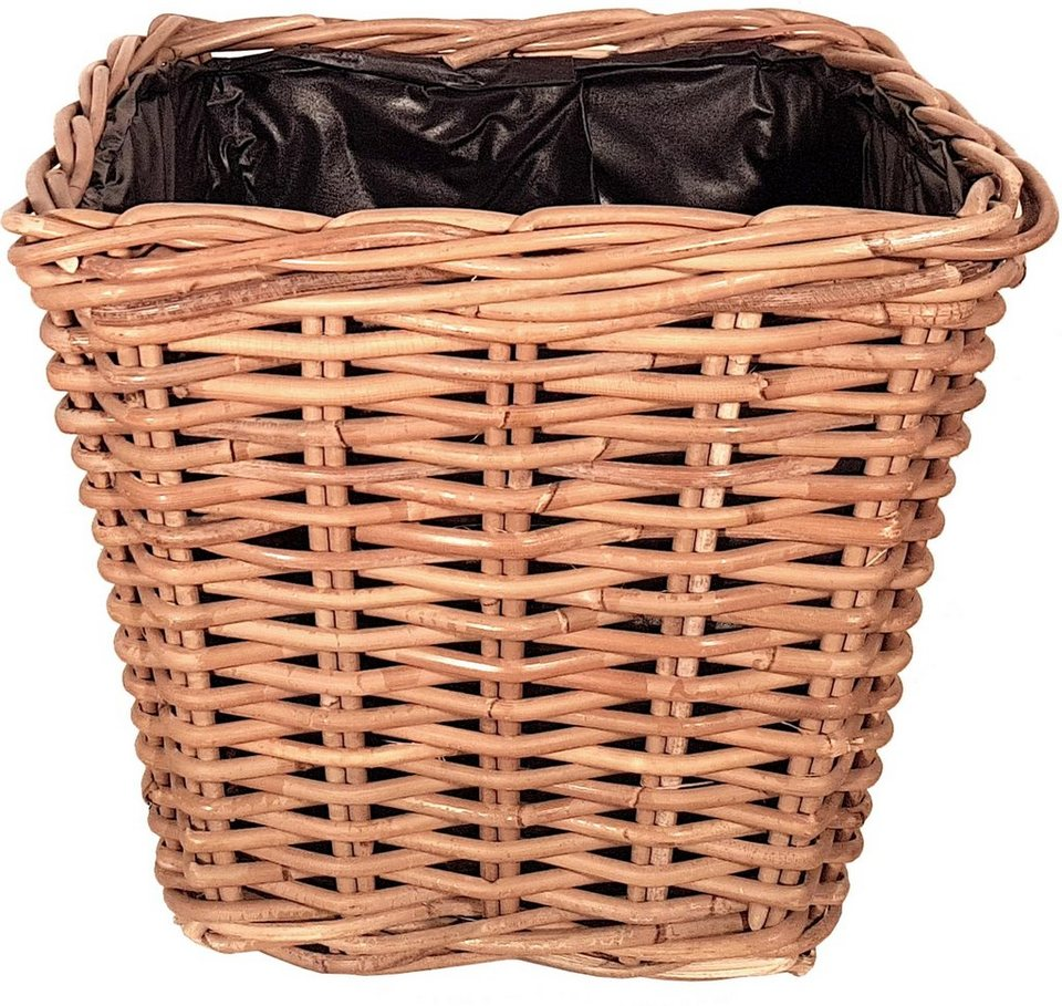 franz m ller flechtwaren bertopf quadratisch korbrohr h he 30 cm online kaufen otto. Black Bedroom Furniture Sets. Home Design Ideas
