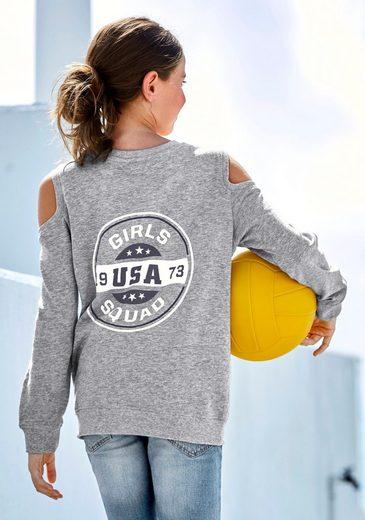Arizona Sweatshirt mit modischen Cut Outs