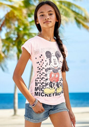 Disney T-Shirt »MICKEY MOUSE« in weiter legerer Form
