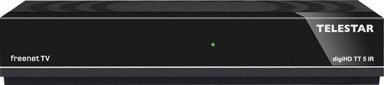 TELESTAR »digiHD TT5 IR« DVB-T2 Receiver (LAN (Ethernet)