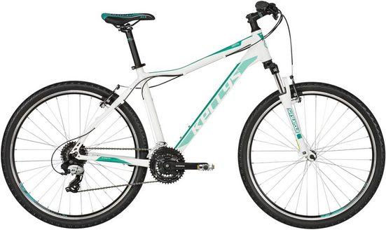 Kellys Mountainbike »Vanity 20 - 26 / 27,5 Zoll«, 24 Gang Shimano TX800 (direct mount) Schaltwerk, Kettenschaltung