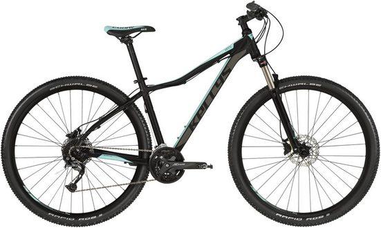 Kellys Mountainbike »Vanity 70 - 27,5 / 29 Zoll«, 27 Gang Shimano Alivio M4000 (direct mount) Schaltwerk, Kettenschaltung