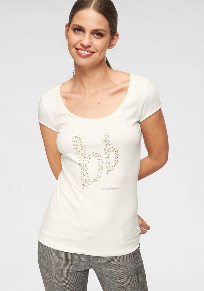 5a9b58aa266225 Bruno Banani T-Shirt mit Zierperlen-Logo kaufen