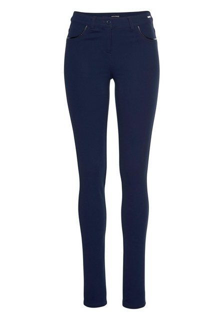Hosen - Bruno Banani Treggings Slim Fit Hose Power Stretch › blau  - Onlineshop OTTO