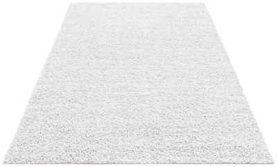 Hochflor-Teppich »Shaggy 30«, Home affaire, rechteckig, Höhe 30 mm, gewebt, Wohnzimmer