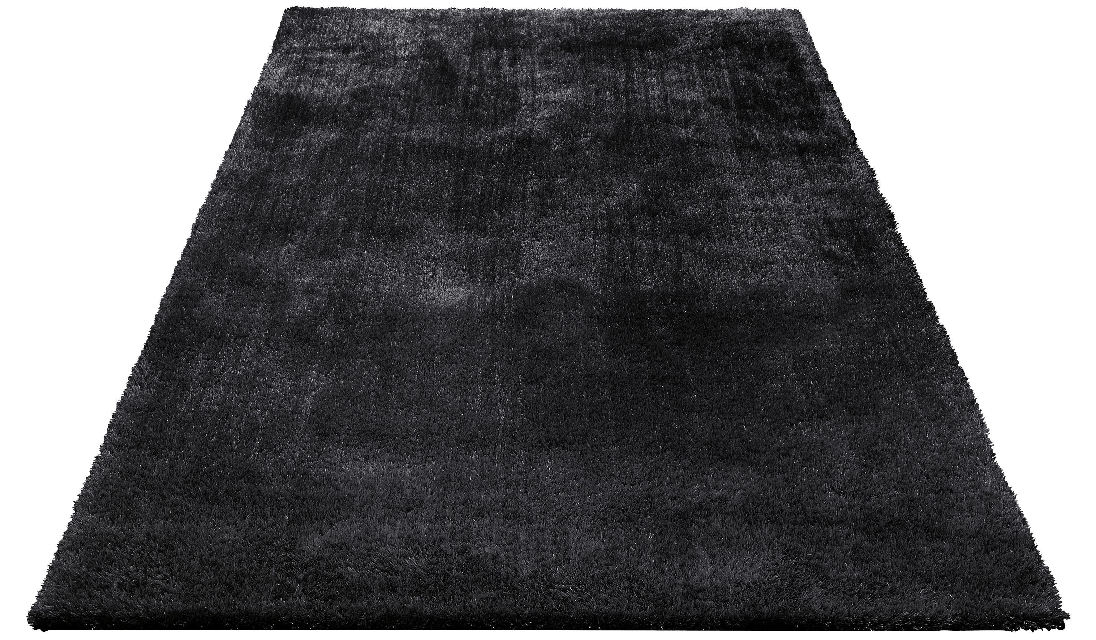 Hochflor-Teppich »Dana«, Bruno Banani, rechteckig, Höhe 30 mm, Besonders weich durch Microfaser