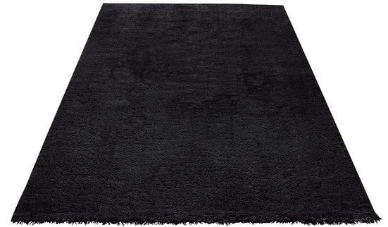 Hochflor-Teppich »Desner«, my home, rechteckig, Höhe 38 mm, Besonders weich durch Microfaser