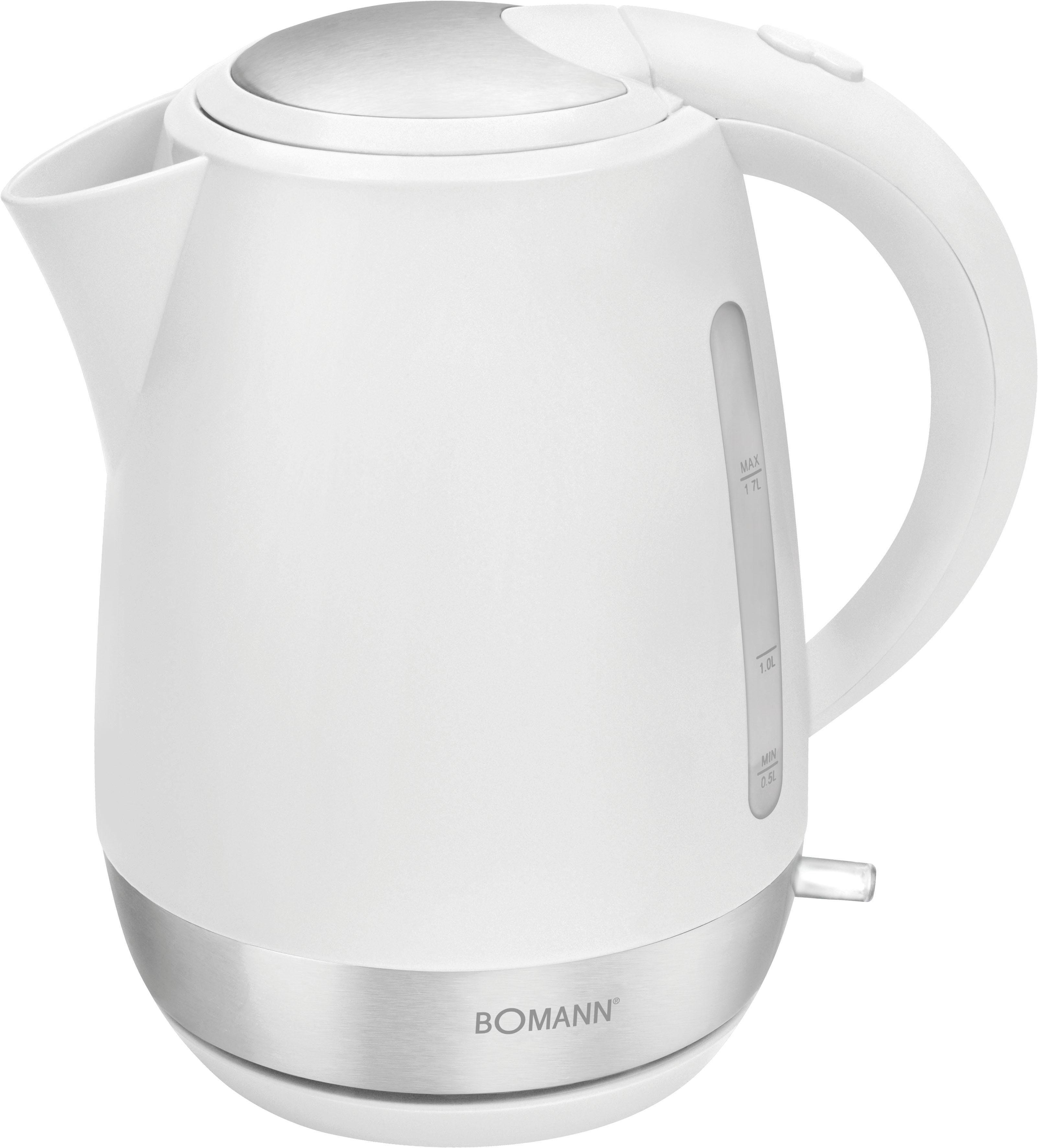 BOMANN Wasserkocher WK 3004 CB, 1,7 l, 2200 W