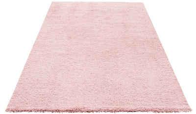 Hochflor Teppich In Rosa Online Kaufen Otto