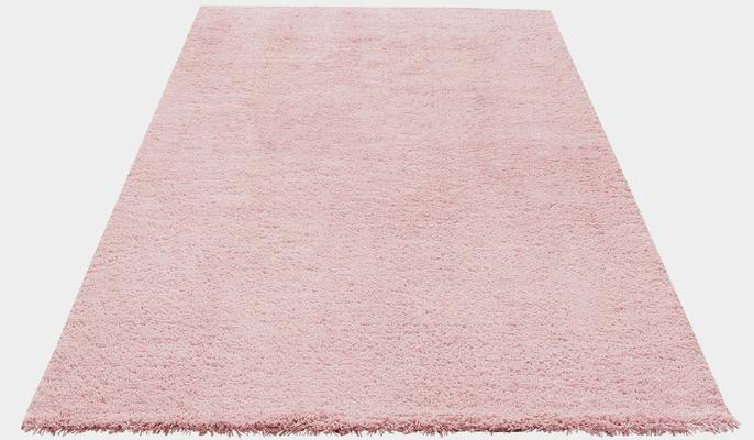 Hochflor-Teppich »Desner«, my home Selection, rechteckig, Höhe 38 mm, Besonders weich durch Microfaser