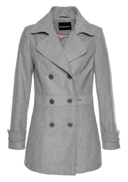 Bruno Banani Cabanjacke im Uniform-Look