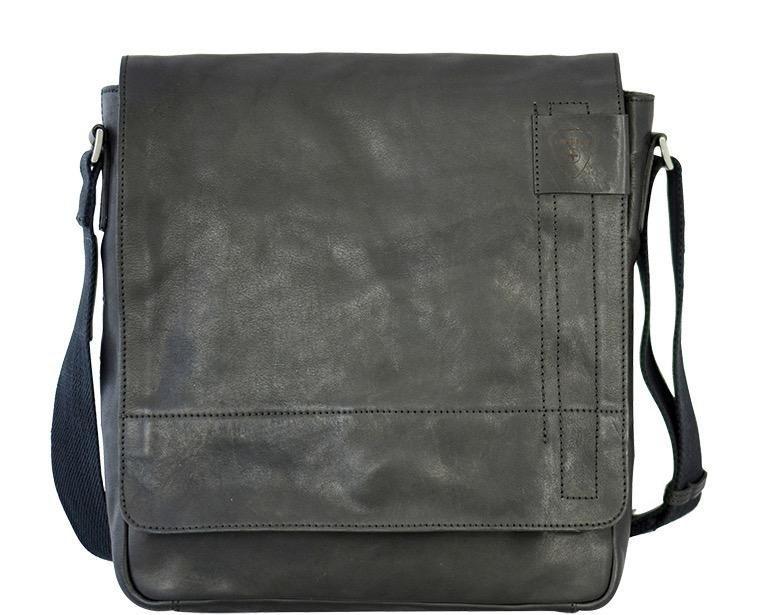 Strellson Messenger Bag »Upminster«, aus Leder mit verstellbarem Umhängeriemen | Taschen > Business Taschen | Schwarz | Leder | Strellson
