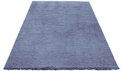Hochflor Teppich In Blau Online Kaufen Otto
