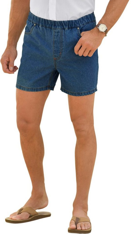 Catamaran Jeans-Shorts aus reiner Baumwolle | Bekleidung > Shorts & Bermudas > Jeans Shorts | Blau | Jeans | Catamaran