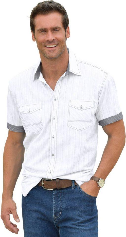 Marco Donati Kurzarm-Hemd in Seersucker-Qualität | Bekleidung > Hemden > Sonstige Hemden | Weiß | Marco Donati