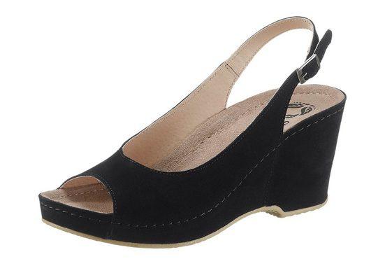 Mubb Sandalette mit Memory Comfort Fußbett