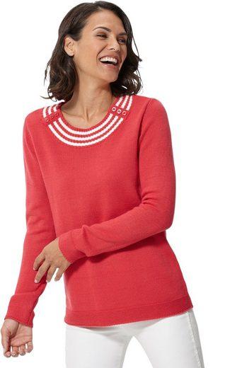 Classic Basics Pullover mit langen Ärmeln
