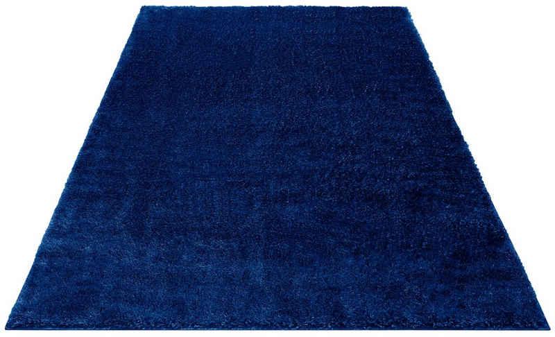 Hochflor-Teppich »Mikro Soft Ideal«, my home, rechteckig, Höhe 30 mm, besonders weich durch Microfaser, extra flauschig, Wohnzimmer