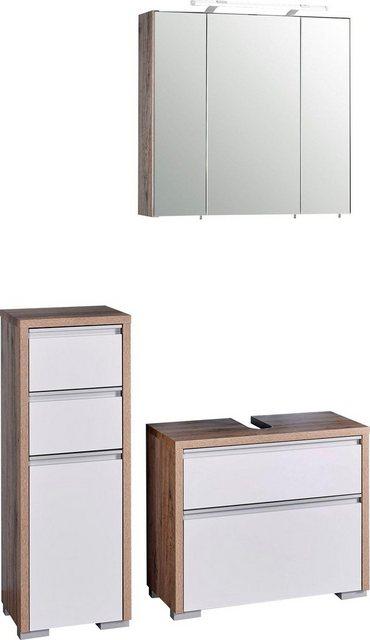 Badezimmer Sets - Schildmeyer Badmöbel Set »Bello«, (Set, 3 tlg)  - Onlineshop OTTO