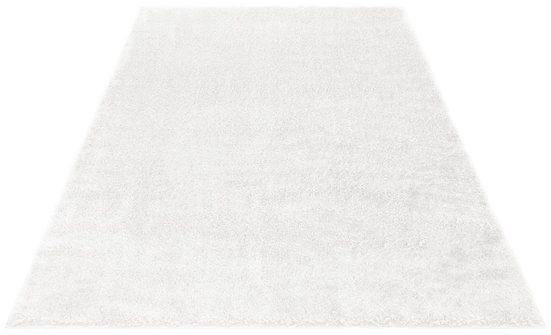 Hochflor-Teppich »Mikro Soft Ideal«, my home, rechteckig, Höhe 30 mm, Besonders weich durch Microfaser