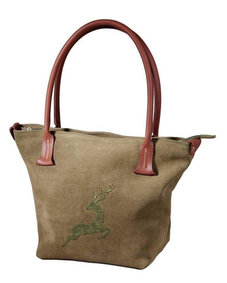 Reitmayer Leder-Handtasche | Taschen > Handtaschen > Ledertaschen | Grün | Reitmayer