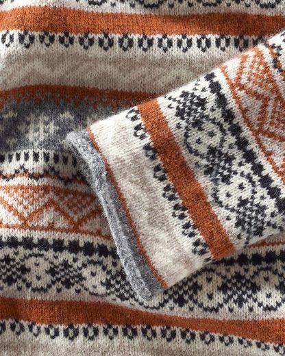 Fjällräven orange Braun Pullover Övik Knit Folk zMGSqVLpU
