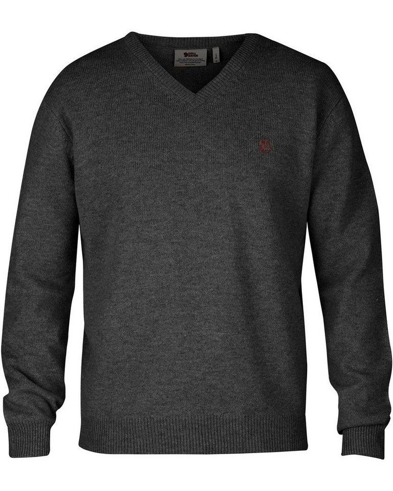 Fjällräven V-Pullover Shepparton | Bekleidung > Pullover > V-Pullover | Grau | Wolle | Fjällräven