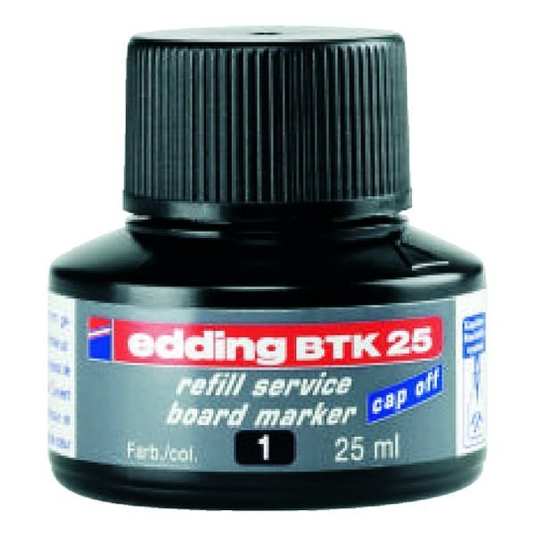 Edding Nachfülltinte »BTK 25« in schwarz