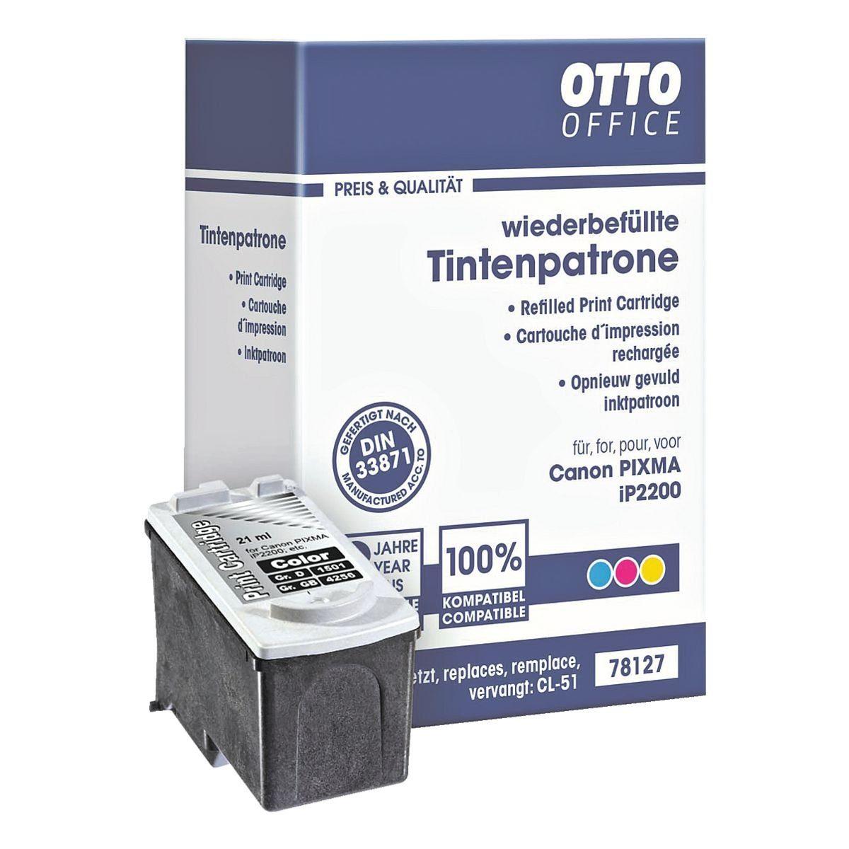 OTTO Office Standard Tintenpatrone ersetzt Canon »CL-51«