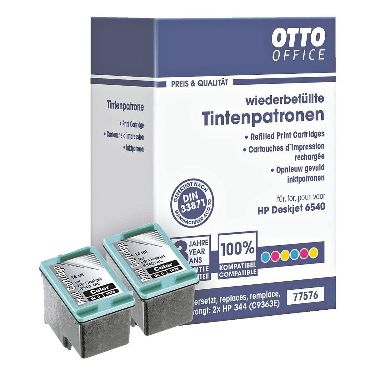OTTO Office Standard Doppelpack Tintenpatronen ersetzt HP »C9363EE«