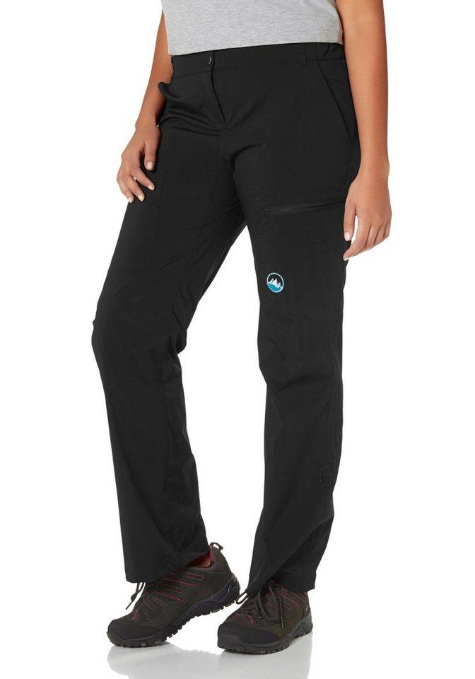 Polarino Trekkinghose auch in Großen Größen erhältlich | Sportbekleidung > Sporthosen > Trekkinghosen | Schwarz | Wo | Polarino
